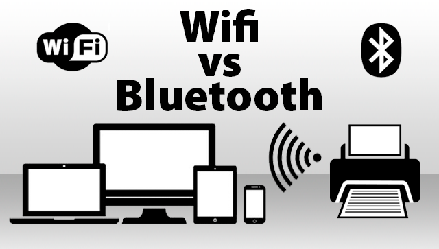 Impresora BLUETOOTH vs WIFI.
