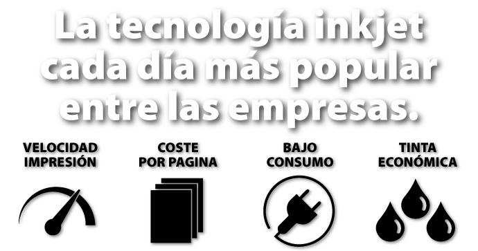Tecnología inkjet, cada día más popular
