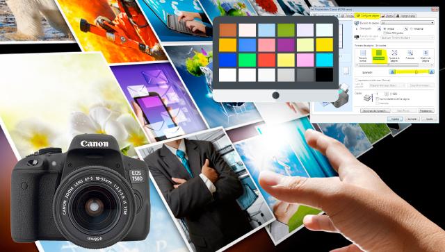 imprime, fotos, calidad, color, papel, configuración